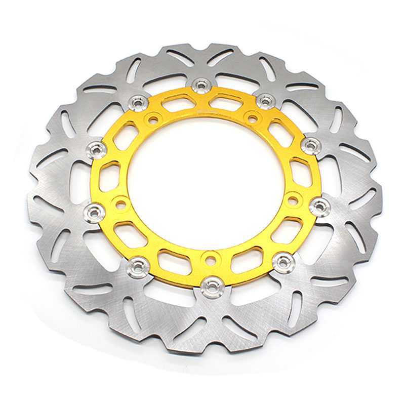 FXCNC Motorcycle Brake Disc 300mm Floating Front Brake Disc Rotor For YAMAHA YZF R15 2015 Motorbike Front Brake Disc Rotor стоимость
