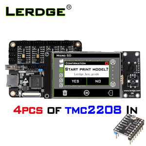 Image 4 - LERDGE X 3D Printer Board 32bit for control board parts motherboard with STM32 ARM 32 Bit Mainboard tmc2208 lv8729 TMC2209