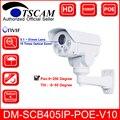 2016 nova DM-SCB405IP-POE-V10 HD 1080 P 2.0MP Câmera IP Zoom Óptico de 10X Mini Visão Nocturna do IR PTZ câmera De Segurança POE P2P