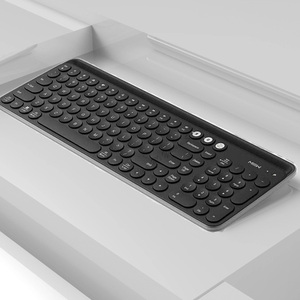 Image 3 - Youpin Miiiw Bluetooth Двухрежимная клавиатура MWBK01, 104 клавиши, 2,4 ГГц, мультисистемная, беспроводная, портативная клавиатура