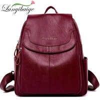 Sacs à Dos de créateur de mode sacs à Dos en cuir pour femmes sacs d'école pour adolescentes filles Sac de voyage rétro Sac à Dos Sac à Dos