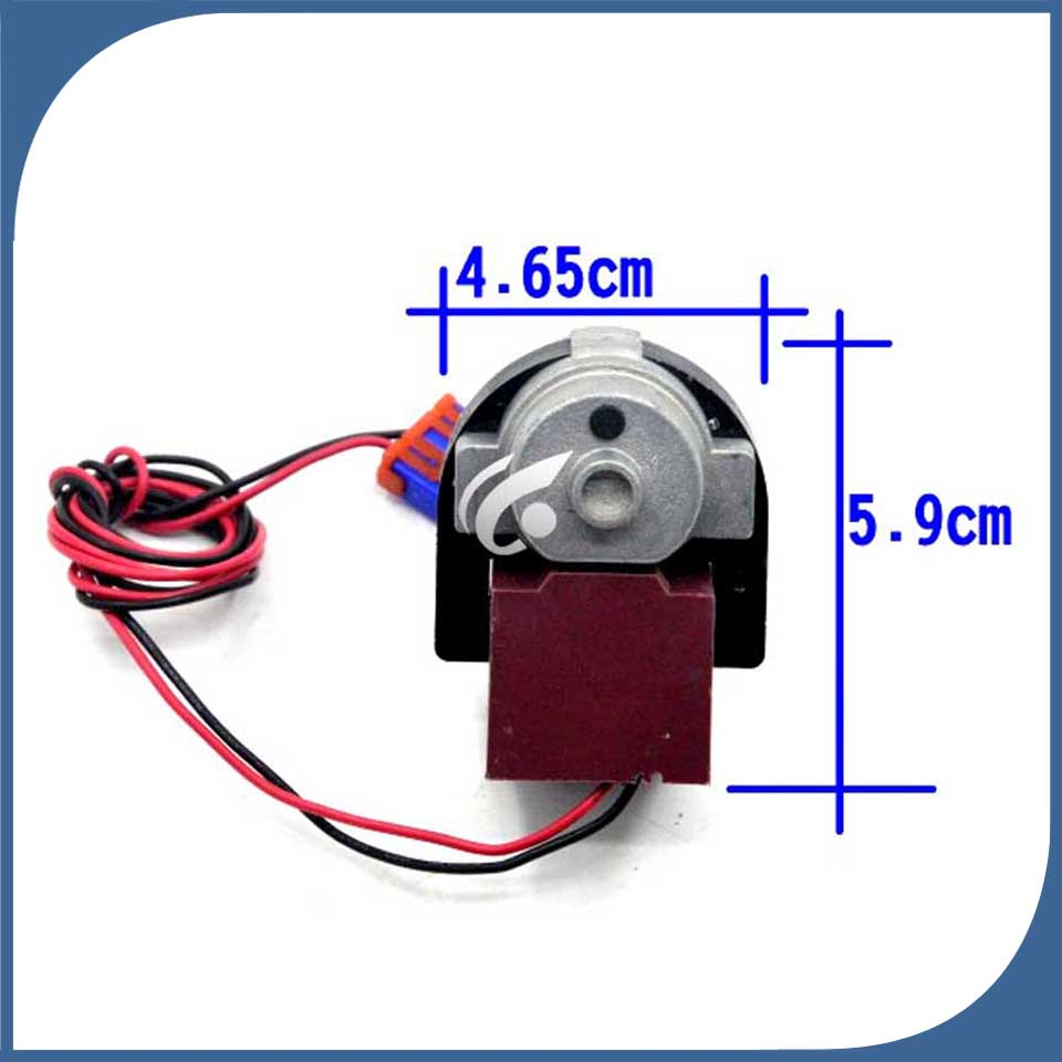 Image 2 - new  good working for Double door switch refrigerator fan motor motor D4612AAA22 D4612AAA18 D4612AAA21 = D4612AAA15-in Refrigerator Parts from Home Appliances