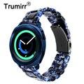 Ремешок для часов Trumirr из смолы  20 мм  для Samsung Gear Sport / Galaxy Watch 42 мм/Active 2 40 мм 44 мм  ремешок для быстрого крепления