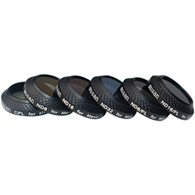 Musan 6 Pieces Multi Coated Filter Kit for DJI Mavic Pro Drone Quadcopter:CPL+ND8+ND16+ND32+ND8/PL+ND16/PL Lens Filters