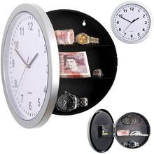 Money-Box Storage-Container Wall-Clock Cofre Safe Stash Secret Hidden Stuff Large Jewellery