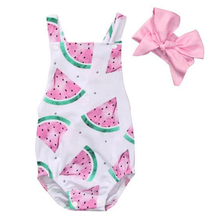 2018 New Baby Floral Romper Baby Girls Clothes Vintage Floral Printed Christmas Baby Rompers Boutique Toddler