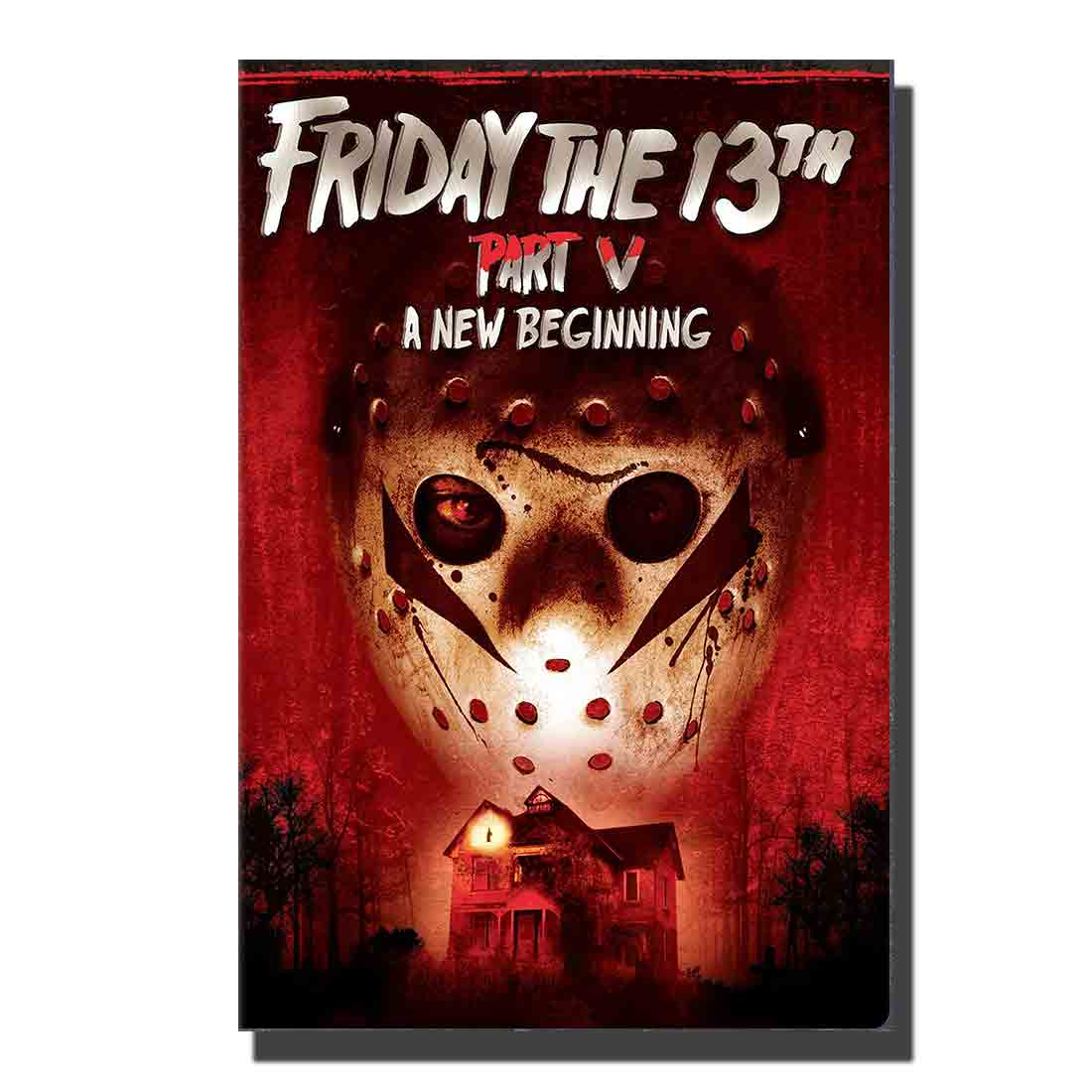 <font><b>3601</b></font> Art Poster Custom Wall decor 27x40 24x36 14x21 Canvas Room Decoration Friday The 13th Horror Movie Film A New Begining image