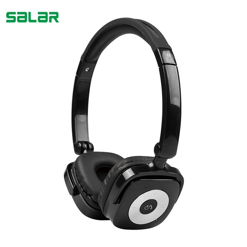 Salar X5 Foldable Earphone Bluetooth Wireless Headset HiFi Stereo Gaming Headphone with Microphone for PC Computer mvpower 3 5mm stereo headphone wired gaming headset with mic microphone earphones for sony ps4 computer smartphone hifi earphone