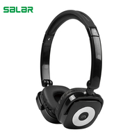 Salar X5 Foldable Earphone Bluetooth Wireless Headset HiFi Stereo Gaming Headphone With Microphone For PC Computer