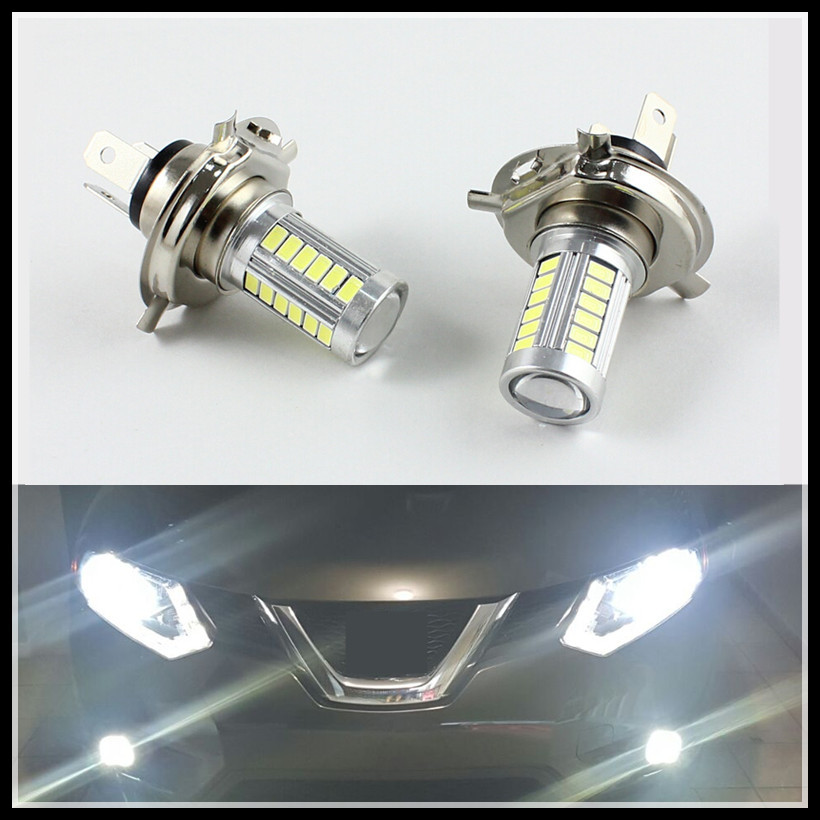 Headlight-Bulbs W21W Running-Light 6000K White H7 H4 12V 7440 7443 2pcs SMD5630 8W LED