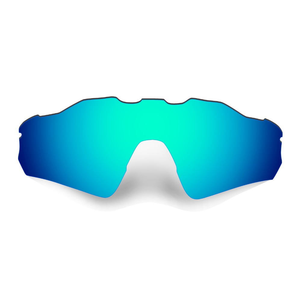 HKUCO Mens Replacement Lenses For Oakley Radar Path Sunglasses Blue Polarized