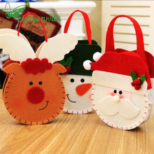 Christmas Decorations Three – Dimensional Gift Candy Bags Christmas Decorations