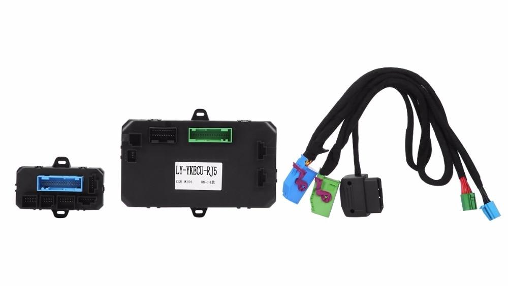 PLUSOBD Auto Remote Engine Starter For Mercedes Benz GLK X204 With Sim Card Engine Start & Car Alarm & Car Door Lock GSM GPS