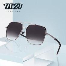 20/20 Brand Design Classic Men Polarized Sunglasses Aviation Frame Vintage Sun Glasses For Men Driving UV400 Protection KB1250