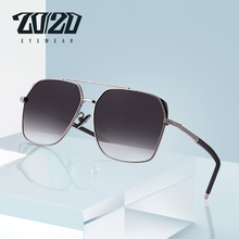 Gafas de sol polarizadas clásicas para hombre, lentes de sol masculinas con montura de aviación, Estilo Vintage, adecuadas para conducir, protección UV400, KB1250, 20/20