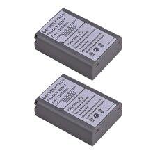 2 шт. 1220 мАч BLN-1 BLN1 Батарея для Olympus E-M5 OM-D E-M1 E-P5 камеры