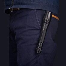Z35 LED Flashlights Torch 8000 lumen CREE XM-L2 zoomable led torch For  2×18650 batteries aluminum led flashlight linternas