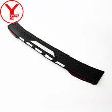 цена на rear step bumpers cover with light For Toyota fortuner sw4 2012 2013 2014 door sill scuff plate Threshold car accessories YCSUNZ