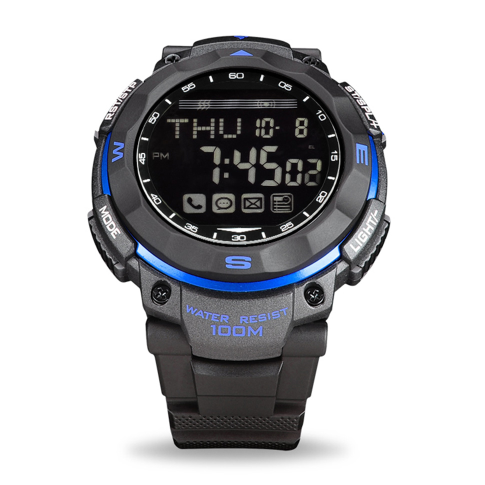 New Arrival Sportwatch VS61 Waterproof 30M Compatible With IOS Android Passometer Alarm Clock Message Call Reminder