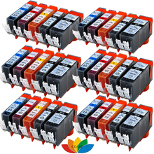 30x XL COMPATIBLE INK CARTRIDGE with CHIP for CANON PIXMA IP7250 MG5450 MG5550 MG6450 MX925