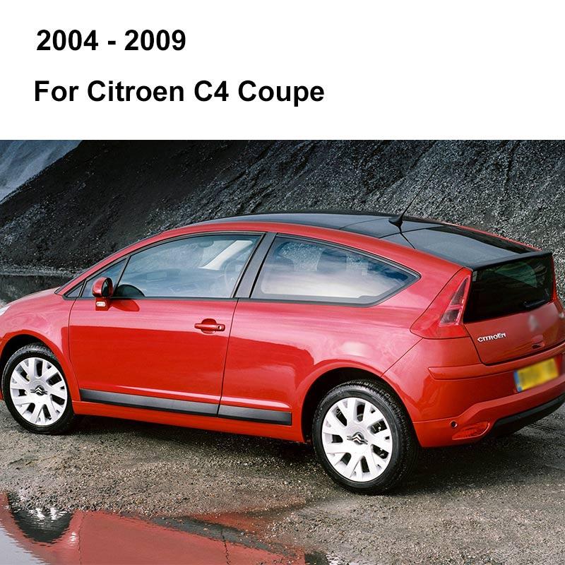 REFRESH Щетки стеклоочистителя для Citroen C4 Hatchback / Coupe / Sedan / Aircross Fit Pinch tab / Push Button / Hook Arms с 2004 по год - Цвет: 2004 - 2009 (Coupe)