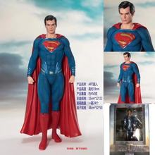 NEW hot 20cm Superman Super hero Justice League Super man Action figure toys doll collection Christmas gift with(China)