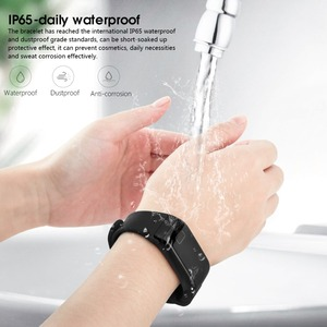 Image 5 - NAIKU F1 השינה Tracker צמיד חכם גשש כושר קצב לב צג גשש פעילות להקה חכם עמיד למים עבור iPhone