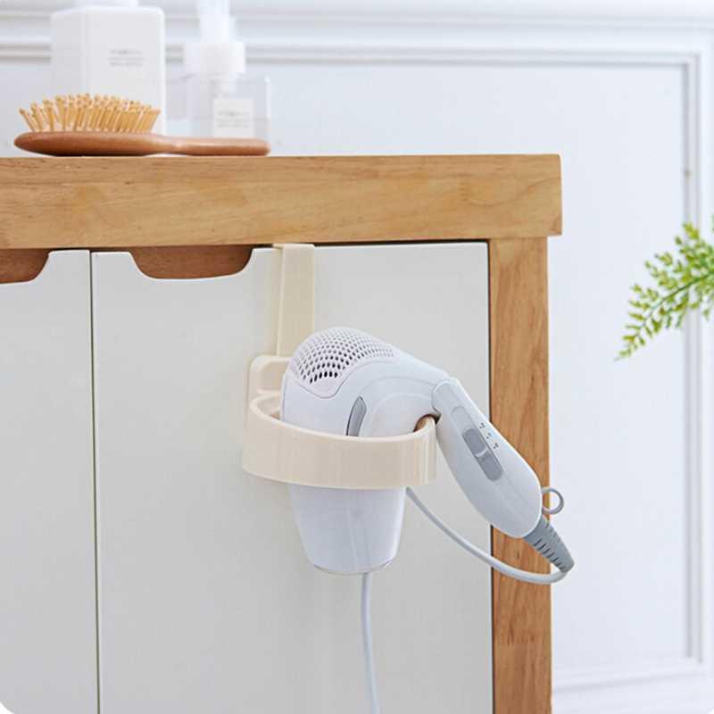 Drzwi hak pierścień suszarka do włosów do łazienki stojak organizator półka regał do przechowywania suszarka do włosów uchwyt na półkę z tworzywa sztucznego dla domu Hotel pokoju wieloosobowym