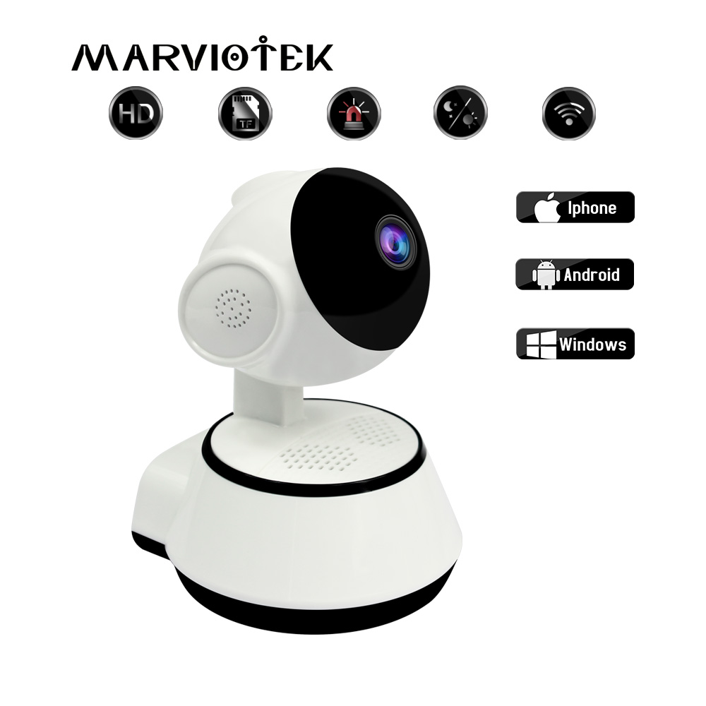 720P Baby Monitor Ip Camera Videcam Baby Radio Video Nanny Electronic Baba Mini Wireless Security Cameras For Home Baby Phone image
