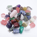 Irregularidad Natural Gem stone Colgantes Pillay Para El Collar Que Hacían ZY1090 Reiki colgantes Del Encanto collares amp 12 unids (Color Mezclado)