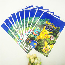 10pcs Pikachu Party Supplies Gift Bag Candy/Loot Bag Cartoon Theme Party Festival&Event Birthday Pokemon Party Decoration Favor