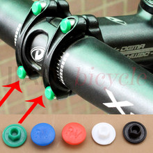 MUQZI MTB Bike Aheadset Stem Screw Cap Mountain Bike Road Bike Foldable Bicycle M5 Hexagon Screws Cap Cycling Accessories(China)