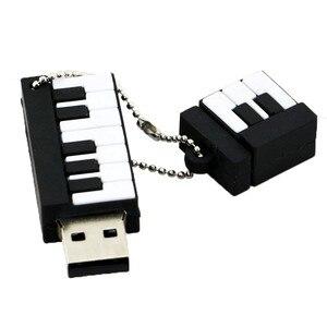 Image 3 - USB Flash Driveการ์ตูนเครื่องดนตรีเปียโนไดรฟ์ปากกา4GB 8GB 16GB 32GB 64GBโน้ตดนตรีmemory Stick Pendriveกีต้าร์