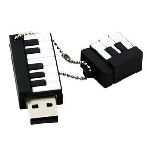 Image 3 - USB flash drive Cartoon Instruments Piano pen drive 4GB 8GB 16GB 32GB 64GB Musical Notes memory stick creative guitar pendrive