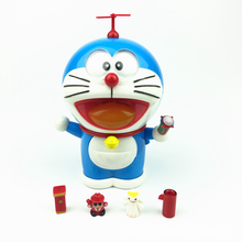 2019 New Doraemon Jingle Cat Action Figure Cute Expression Smile Robot Car Decoration Kids Toy Gift Movie Face Change Doll