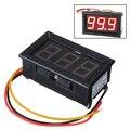 PROMOÇÃO! 2016 Chegada Nova LCD digital voltímetro amperímetro voltimetro amperímetro LED Vermelho Amp Volt Medidor Medidor de medidor de tensão DC