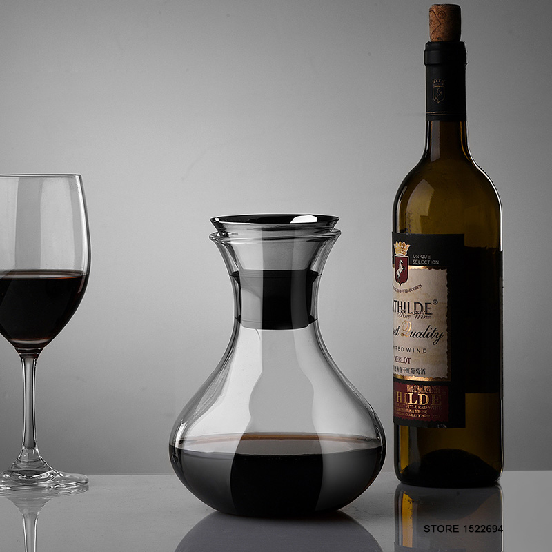 Crystal wine decanters promotion shop for promotional for Wine carafes and decanters