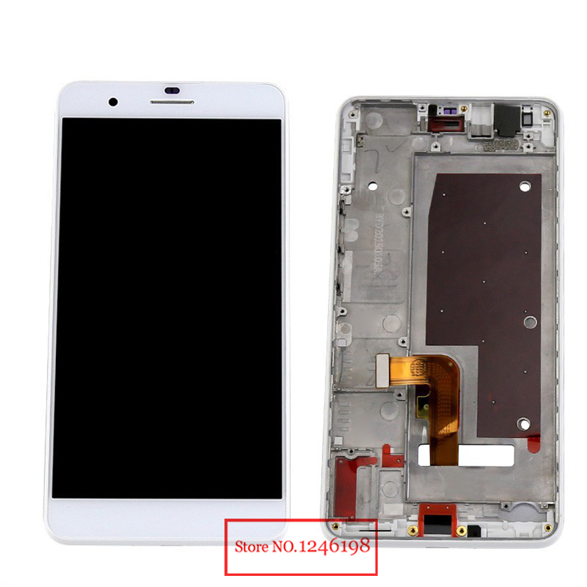 TOP Quality Full LCD Display Touch Screen Digitizer Assembly with frame For Huawei Honor 6 Plus Phone Panel Replacement