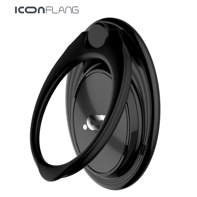 ICONFLANG 360 Degree Finger Ring Mobile Phone Smartphone Stand Holder For iPhone iPad Xiaomi all Smart Phone Model