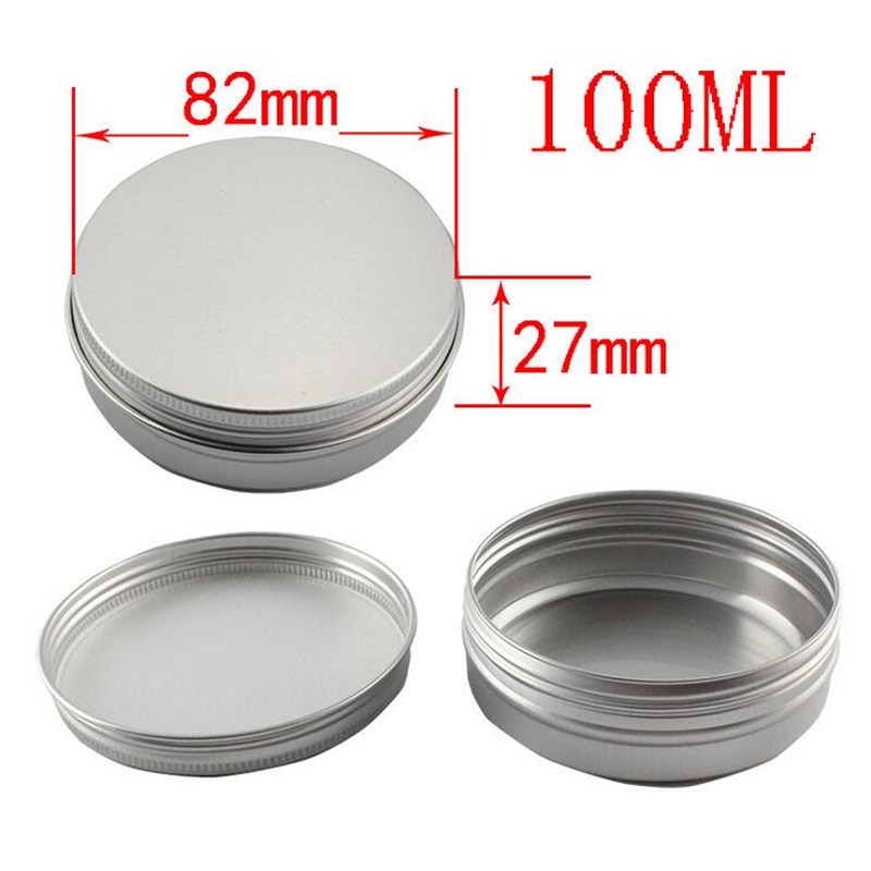 80 stks 100g Ronde Blikjes Metalen Verpakking Cosmetica Jar Cream - Huidverzorgingstools - Foto 2