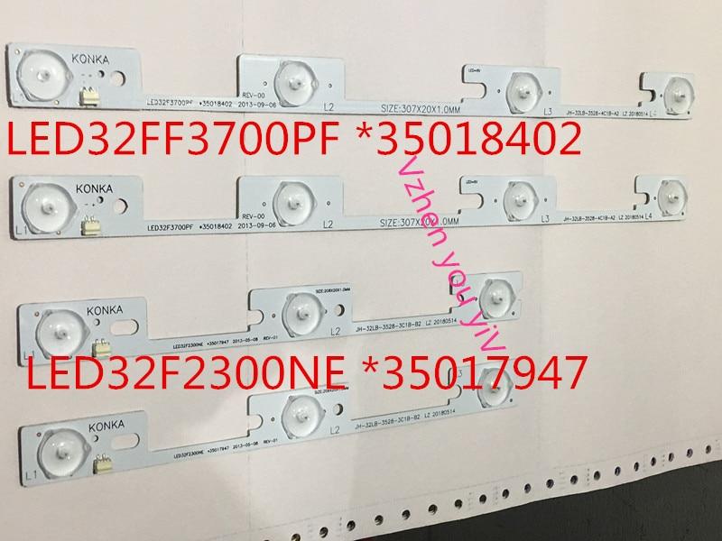 16pcs lot NEW for Konka 8PCS LED32F3700PF and 8PCS LED32F2300NE light bar backlight lamp LED strip