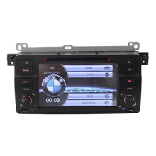 """double din 7"""" Touch Screen for BM w E46 Multimedia Radio Car DVD MP3 MP4 Players for BM w E46 Steering Wheel Control FM USB BT"""