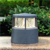 Nova estigma alumínio luzes ao ar livre lâmpadas de iluminação de parede ao ar livre do produto para uso residencial