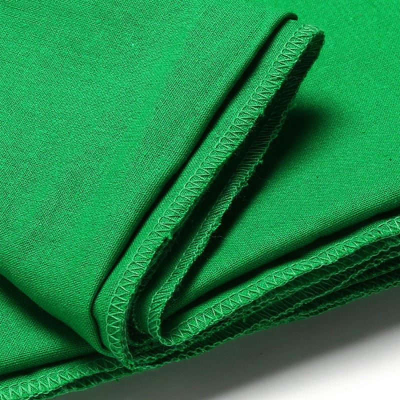 Green Screen Chromakey Backdrop Muslin Video Photo Background Photography Studio Background Cotton Photo Lighting 1.8x2.7m free 10 10ft solid dyed muslin backdrop studio professional photography photo background f5649 photography background
