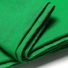 Chromakey Pantalla verde Muselina Video Foto Estudio de Fotografía de Fondo de Fondo de Algodón Foto Iluminación 1.8×2.7 m