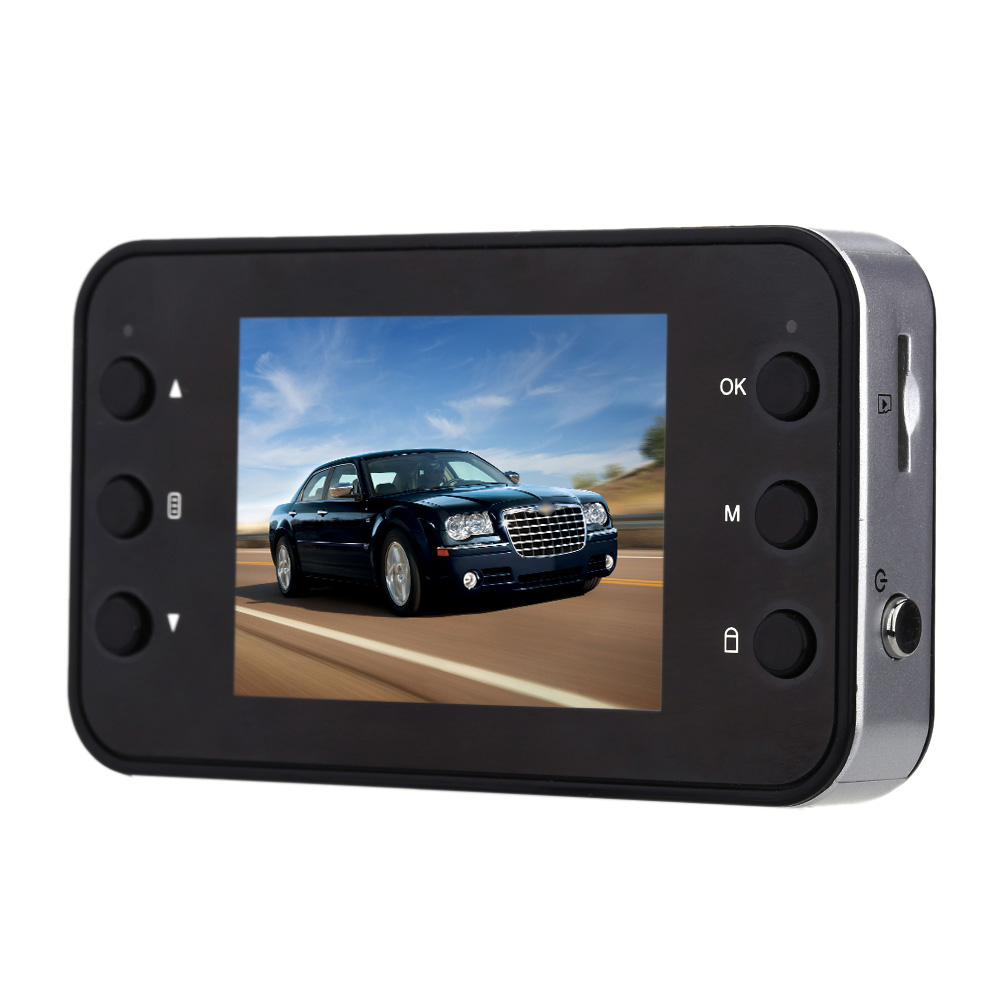 140 degree Wide Angle Lens 1080P HD 2 0inch LCD Night Vision Car DVR Camera font