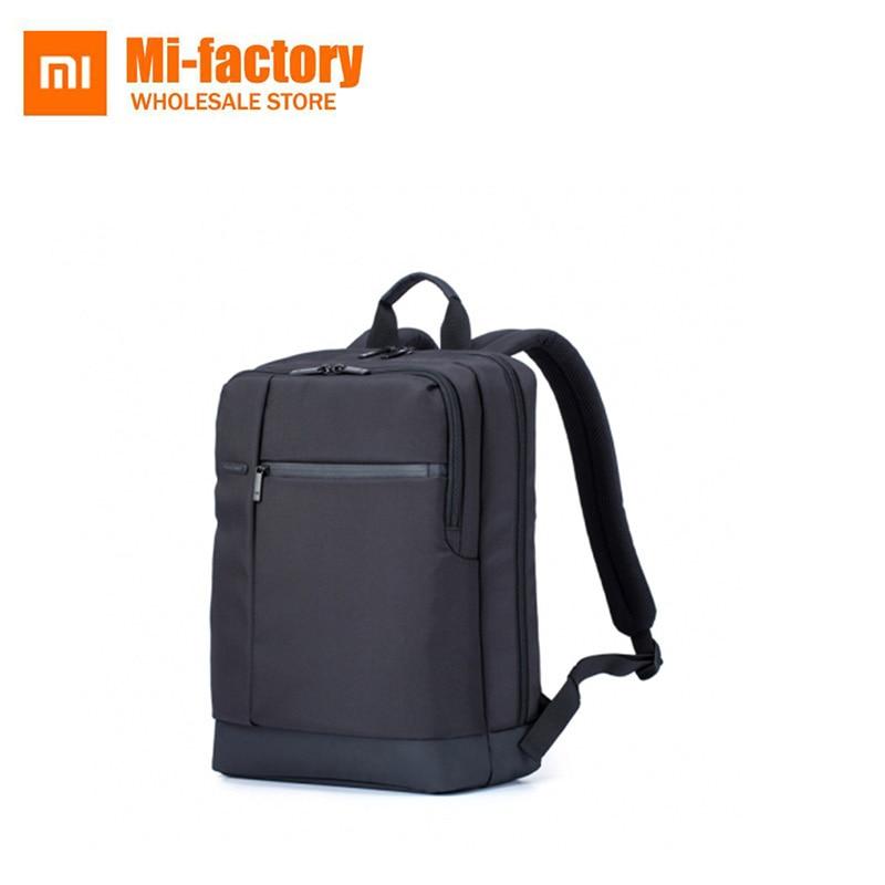 Original Xiaomi Classic Business Backpacks Large Capacity Student Bag Fashion Men Women Travel School Office Laptop Backpack Bag new fashion backpack men and women large capacity designer student pack high quality travel bag business laptop backpacks