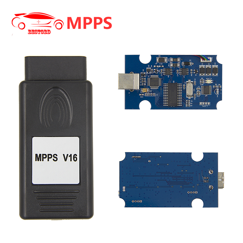 Write Flash 2017 New MPPS ECU Chip Tuning Tool V16.1.02 Multi Languages Read