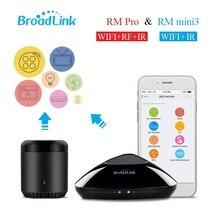 Broadlink RM Pro RM mini3, Automatización Smarthome, Universal mando a distancia inalámbrico, WIFI + IR + conmutador de RF por teléfono inteligente IOS Android