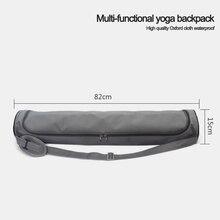 1c048a8a3431 Double Zipper Waterproof Multifunction Pocket Yoga Bag Dance Package Sports  Knapsack